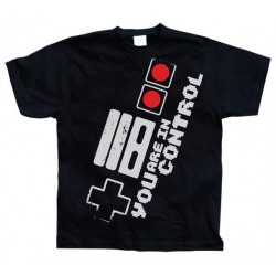 GEEK - T-Shirt You Are in Control - Black (L) 142957  Alles