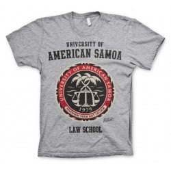 AMERICAN SAMOA - T-Shirt Law School - H.Grey (L) 142952  Alles
