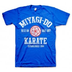 KARATE KID - T-Shirt Miyagi-Do Karate 1984 - blauw (M)