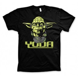 STAR WARS - T-Shirt Cool Yoda - zwart (M)