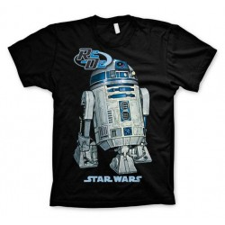 STAR WARS - T-Shirt R2-D2 - Black (S) 142744  T-Shirts Star Wars