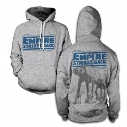 STAR WARS - Sweatshirt Empire Strikes Back AT-AT - H.Grey (XXL) 142733  Sweatshirts