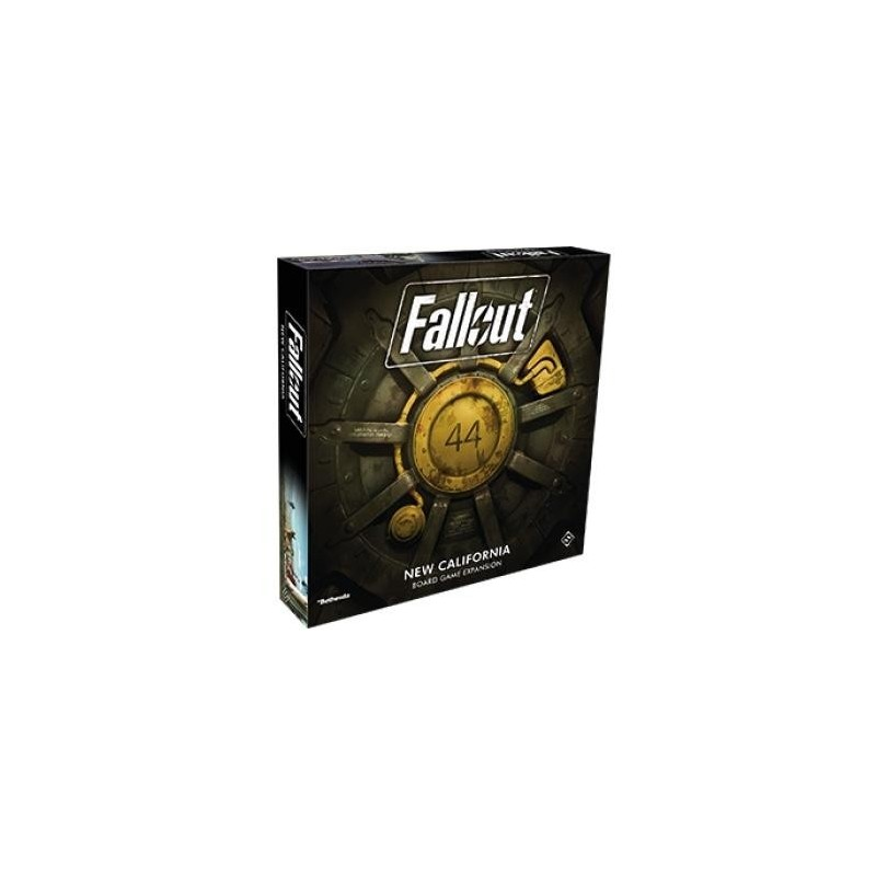 FALLOUT TBG - New Californie EXPANSION (UK) 168952  Bord Spellen