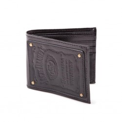 JACK DANIEL'S - Bifold Wallet with Leather Patch 142497  Portefeuilles