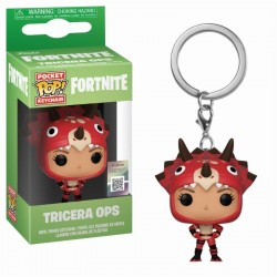 Pocket Pop Keychains : FORTNITE - Tricera Ops 171425  Fortnite