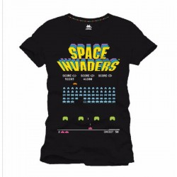 SPACE INVADERS - T-Shirt Arcade Game (M) 142230  T-Shirts