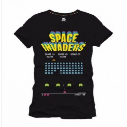 SPACE INVADERS - T-Shirt Arcade Game (S) 142229  T Shirts alles