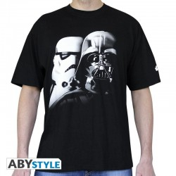 STAR WARS - T-Shirt Vador-Troopers - Black (M) 142119  T-Shirts Star Wars