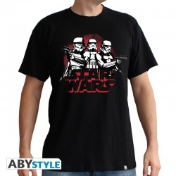 STAR WARS - T-Shirt Stormtroopers - zwart (XL)