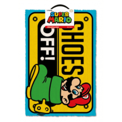 SUPER MARIO - Door Mat 40X60 - Shoes Off