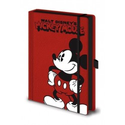 MICKEY MOUSE - Notebook A5 Premium - Pose