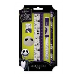 NIGHTMARE BEFORE CHRISTMAS - Premium Sationery Set - Spiral Hill 168924  Pennen