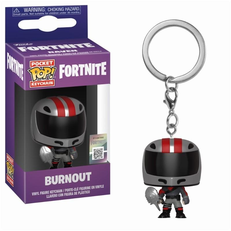 Pocket Pop Keychains : FORTNITE - Burnout 171422  Funko Pops
