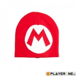 NINTENDO - Bonnet - Super Mario Knitted M Logo Red 141745  Alles
