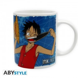 ONE PIECE - Mug 320 ml - Luffy & Emblem 141576  Drinkbekers - Mugs