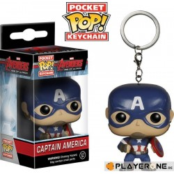 Pocket Pop Keychains : Avenger - Age of Ultron - Captain Amarica