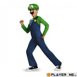 NINTENDO - Disguise Luigi Clasic (7-8 years) 141334  Figurines