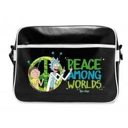 RICK & MORTY - Messenger Bag Vinyl - Peace 168887  Messenger Bags