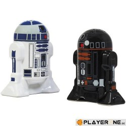 STAR WARS - Salt and Pepper Shakers Droids Set 141304  Zout & Pepervat