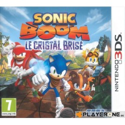 Sonic Boom Crystal 140665  Nintendo 3DS