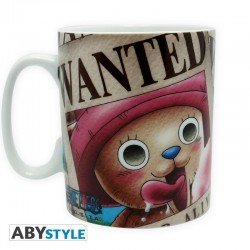 ONE PIECE - Mug 460 ml - Chopper Wanted 139987  Drinkbekers - Mugs