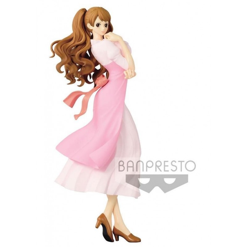 ONE PIECE - Figurine Glitter & Glamours - Charlotte Pudding Pink 168842  One Piece
