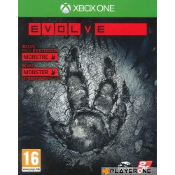 Evolve - DAY ONE EDITION Monster Expansion Pack Incl - Xbox One  139250  Xbox One