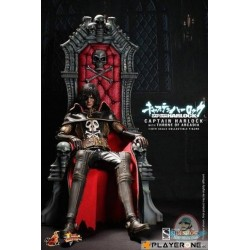 Space Pirate Captain Harlock on Arcadia Throne Sixth Scale Figure 139226  Figurines
