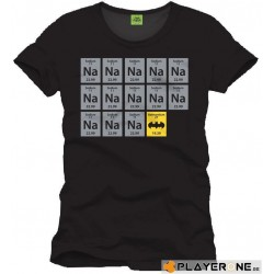 BATMAN - T-Shirt CHIMIE BAT zwart (XXL)