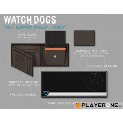 WATCH DOGS - Faux Leather Portemonnee Aiden