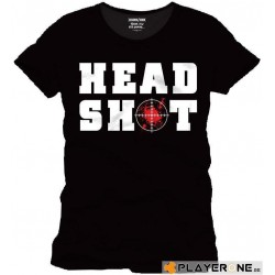 FOR GAMING - T-Shirt HEAD SHOT - (XXL) 138725  T-Shirts For Gaming