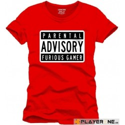 FOR GAMING - T-Shirt PARENTAL ADVISORY - (XXL) 138710  T-Shirts