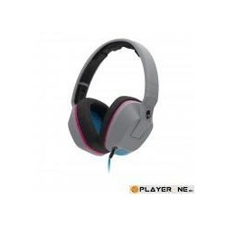 SKULLCANDY - CRUSHER Grey/Cyan/Black ( With Mic ) 138500  Computer Accessoires