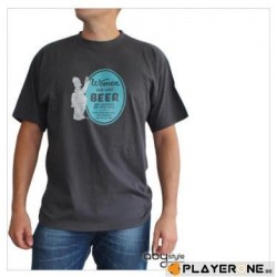 SIMPSONS - T-Shirt Homme BEER - Dark Grey (S) 138278  T-Shirts The Simpsons