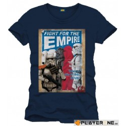STAR WARS - T-Shirt Fight for the Empire - Navy (S) 138149  T-Shirts