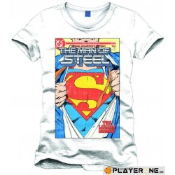 SUPERMAN - T-Shirt The Man of Steel Retro Collector (S) 138100  T-Shirts Superman