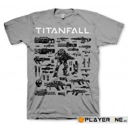TITAN FALL - T-Shirt CHOOSE YOUR WEAPON (XL) 138012  T-Shirts