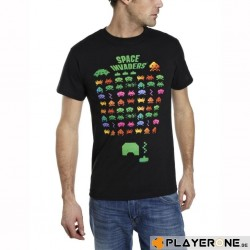 SPACE INVADERS - T-Shirt Multi Coloured (XXL) 137375  T-Shirts