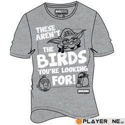 ANGRY BIRDS - T-Shirt Star Wars These Aren't The Birds (S) 137348  T-Shirts