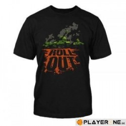WORLD OF TANKS - T-Shirt Roll Out (S) 136876  T-Shirts World of Tanks