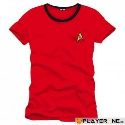 STAR TREK - T-Shirt Red Scotty Uniform (S) 136742  T-Shirts Star Trek