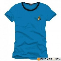STAR TREK - T-Shirt Blue Spock Uniform (M) 136738  T-Shirts Star Trek