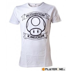 NINTENDO - T-Shirt Super Mario : Mushroom Kingdom White (L) 136312  T-Shirts Mario