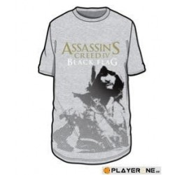 ASSASSIN'S CREED BLACK FLAG - T-Shirt Grey Printed Cotton (S) 136200  T-Shirts Assassin's Creed