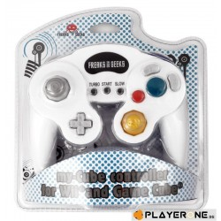 RETRO - Controller Turbo and Slow for Wii/Gamecube - White