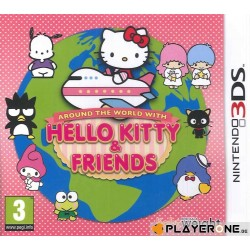 Hello Kitty Around the World with H.K. and Friends 135892  Nintendo 3DS