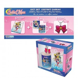 SAILOR MOON - Gift Box (Mug+Keyring+Mini Notebook)