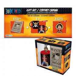ONE PIECE - Gift Box (Mug+Keyring+Mini Notebook) - Luffy 168643  Drinkbekers - Mugs