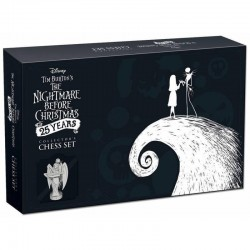 NIGHTMARE BEFORE CHRISTMAS - Collector Chess Set 25 Years 168631  Collector Print Canvas