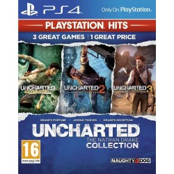 Uncharted Nathan Drake Collection (PS4 Only) HITS - Playstation 4  171399  Playstation 4